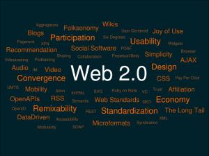 Web 2.0 strumenti