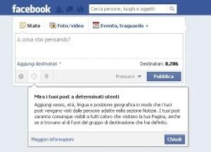 post target facebook