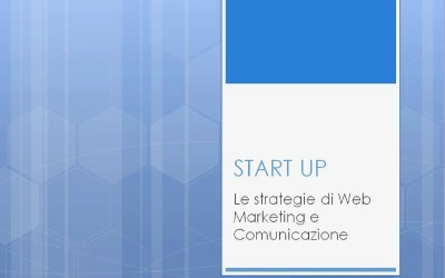 Start-up a scuola di Web Marketing