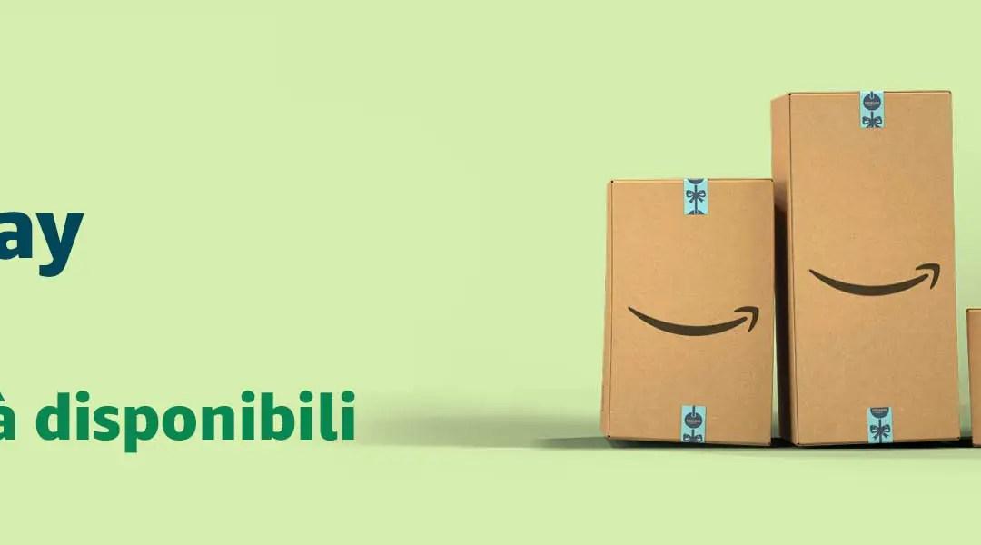 Il 23 novembre è Black Friday: su Amazon.it una settimana di offerte su migliaia di prodotti