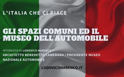GLI SPAZI COMUNI ED IL MUSEO DELL'AUTOMOBILE – Intervista a Architetto Benedetto Camerana