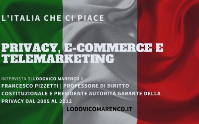 PRIVACY, E-COMMERCE E TELEMARKETING | Intervista a Francesco Pizzetti