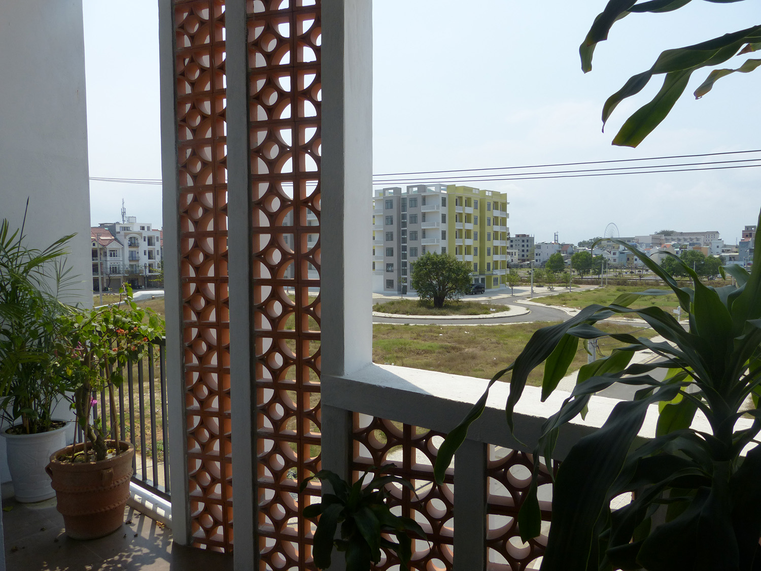 Enjoy comfortable everyday living with a beautiful French style house-balcony