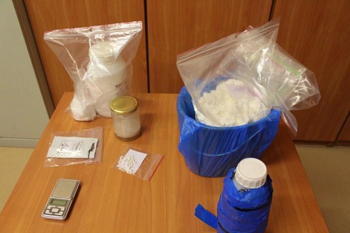 Nowy rok zaczął w areszcie. Recydywista złapany z prawie 3 kg narkotyków