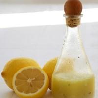 Salatsoßen: Zitronen-Dressing
