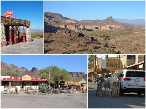 Route 66 Oatman, Arizona