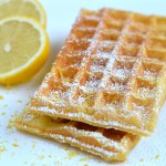 Lemon Waffles
