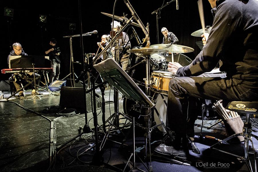 Michel Aumont & Le grand orchestre Armorigene à La Citrouille (4)