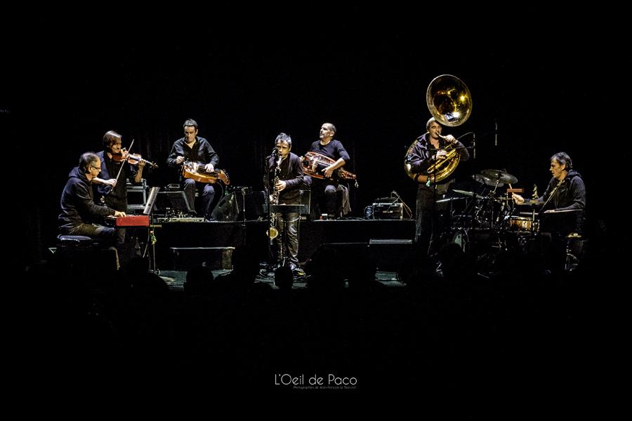 Michel Aumont & Le grand orchestre Armorigene à La Citrouille (5)