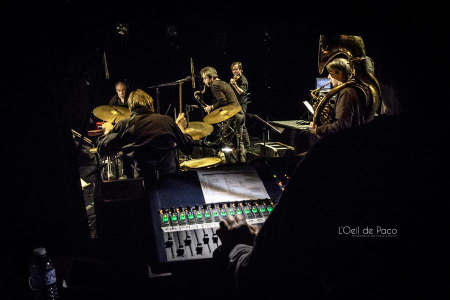 Michel Aumont & Le grand orchestre Armorigene à La Citrouille (9)