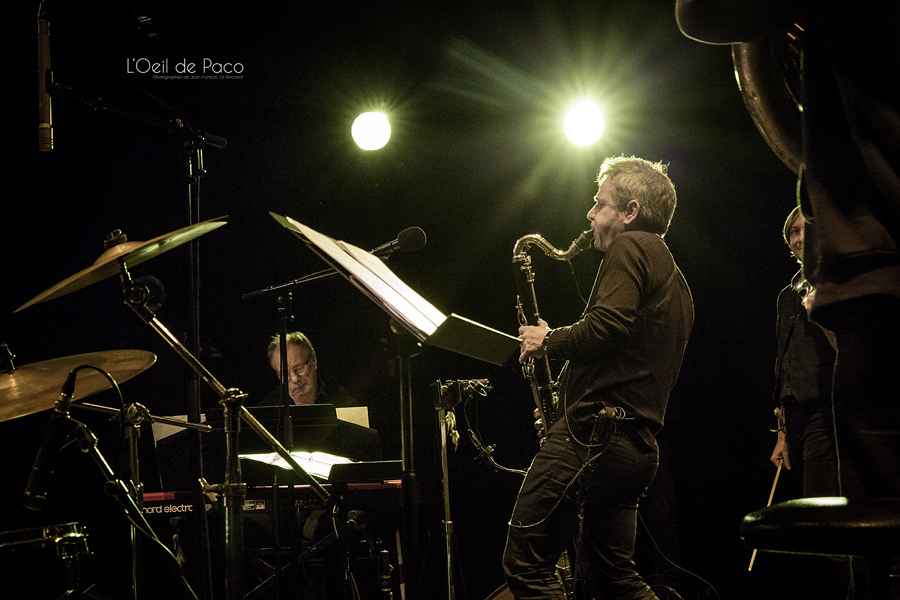 Michel Aumont & Le grand orchestre Armorigene à La Citrouille (11)