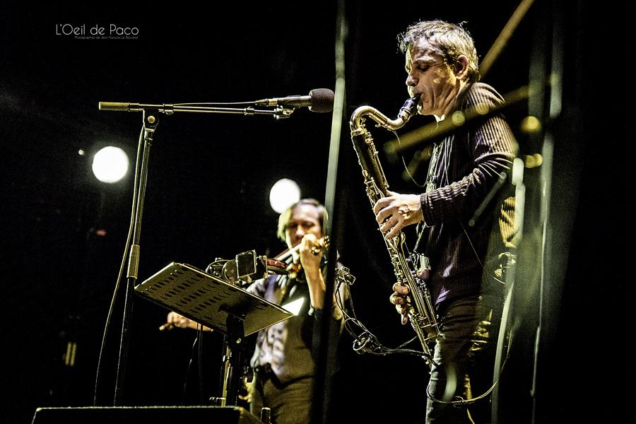 Michel Aumont & Le grand orchestre Armorigene à La Citrouille (20)