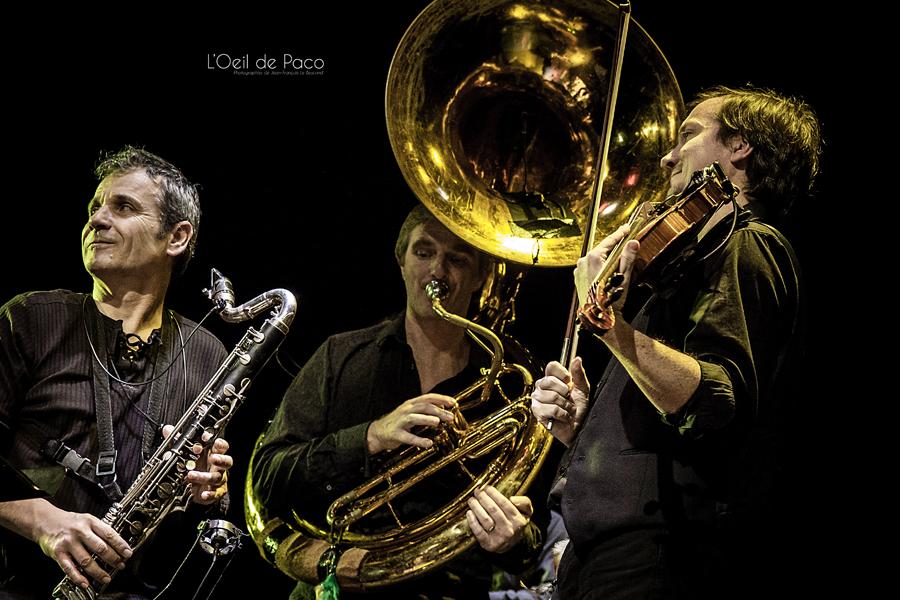 Michel Aumont & Le grand orchestre Armorigene à La Citrouille (22)