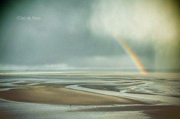 Photo #94 – L'arc-en-ciel sur la Baie de Saint-Brieuc
