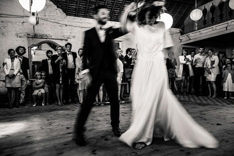 L'Oeil de Paco - Photographies de Jean-François Le Bescond - Mariage - Permière danse
