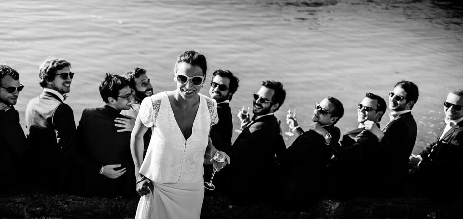 Photos de mariage Perros-Guirec - la mariée