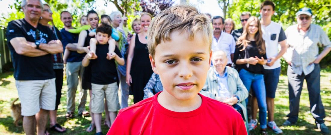 L'Oeil de Paco - Photographies de Jean-François Le Bescond - Familles - petit fils