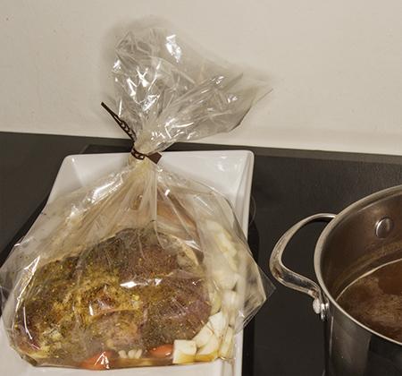 Knoken er kommet i posen, kasserollen tilhører neste blogginnlegg.