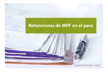 Retenciones de IRPF en el paro