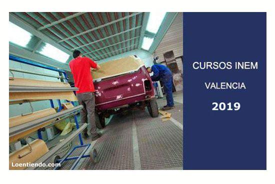 Cursos INEM Valencia 2019