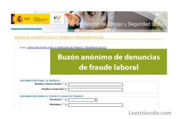 Buzón anónimo de denuncias de fraude laboral