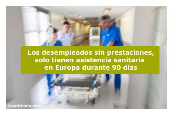 Asistencia Sanitaria Europea para desempleados
