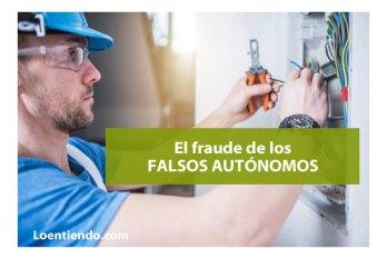 Fraude falsos autonomos
