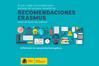 Recomendaciones para ERASMUS