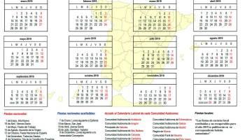 Calendario Laboral De Cataluna.Calendario Laboral Cataluna 2019 Tramites 2019 Loentiendo