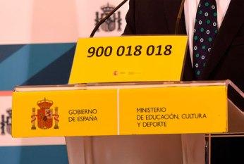 Teléfono contra el acoso escolar 900 018 018