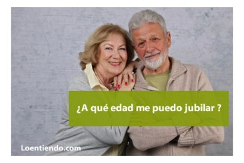 Las edades de jubilación