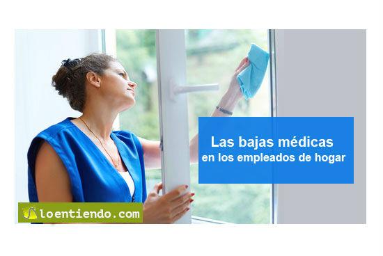 La baja médica en las empleadas del hogar