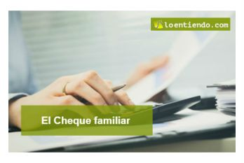El cheque familiar
