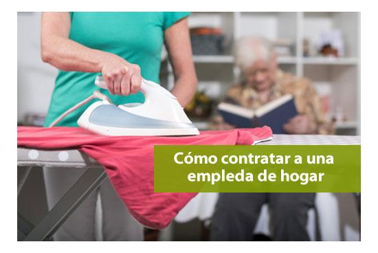Contratar a empleada de hogar