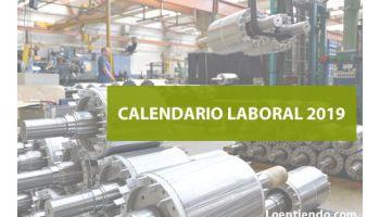Calendario Laboral Fuenlabrada 2019.Calendario Laboral Madrid 2019 Tramites 2019 Loentiendo