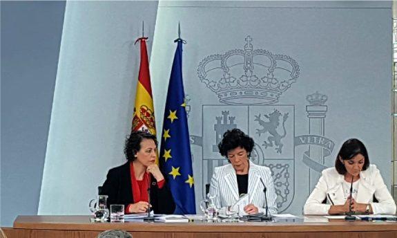 Consejo de Ministros del 7 de diciembre de 2018
