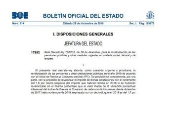 Real Decreto-ley 28/2018