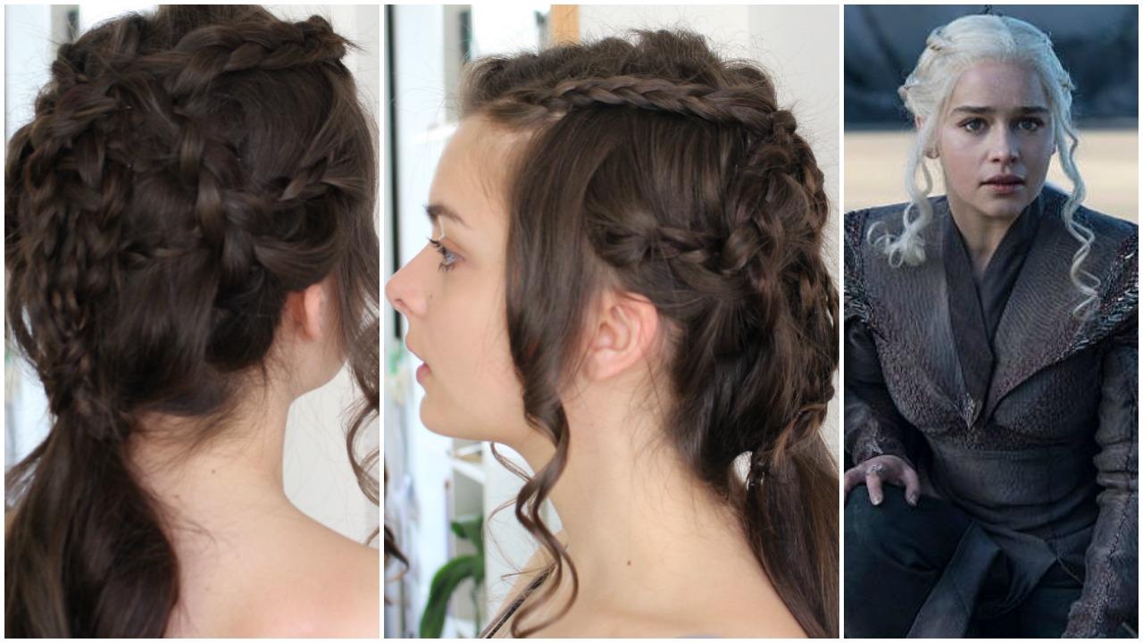 Daenerys Targaryen GoT Season 7 Hair Tutorial Loepsie