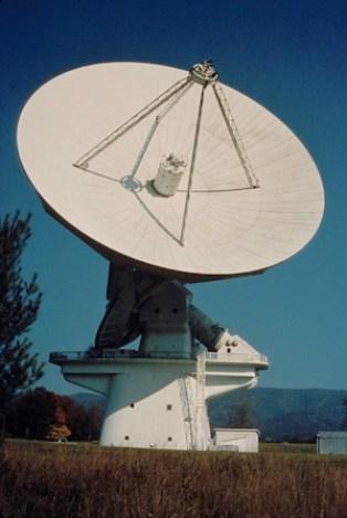 140ft Cassegrain Radio Telescope, Greenbank Observatory
