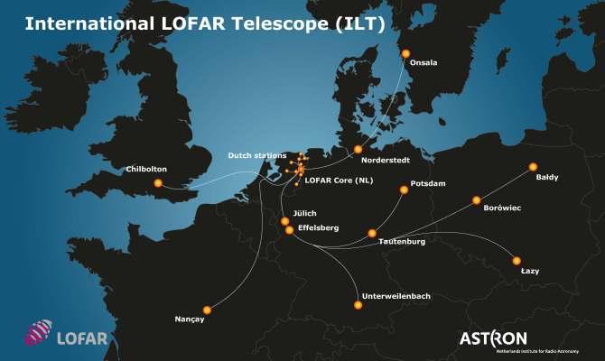 LOFAR-international-stations-on-map-Europe
