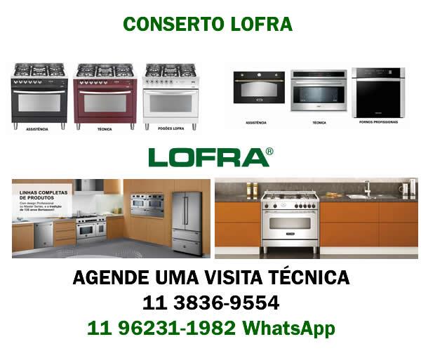 Conserto fogão Lofra