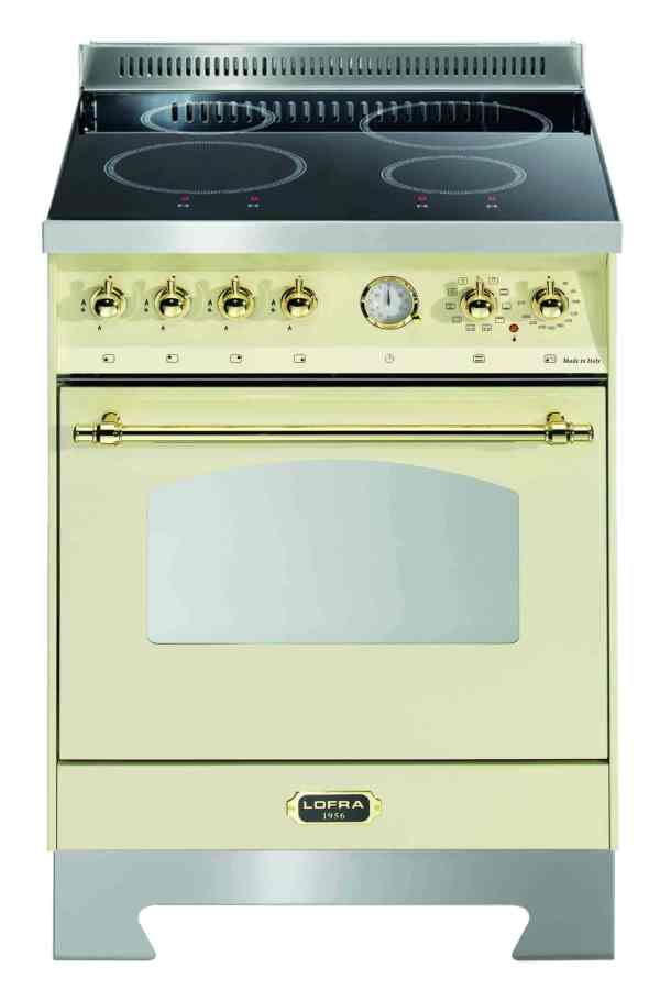 Dolcevita Induction Cooker Ivory White 60cm