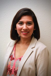 Diana Ochoa, Receptionist
