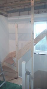 Fitting-of-stair-case