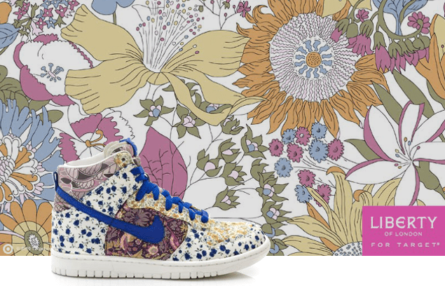 Liberty of London dla Nike