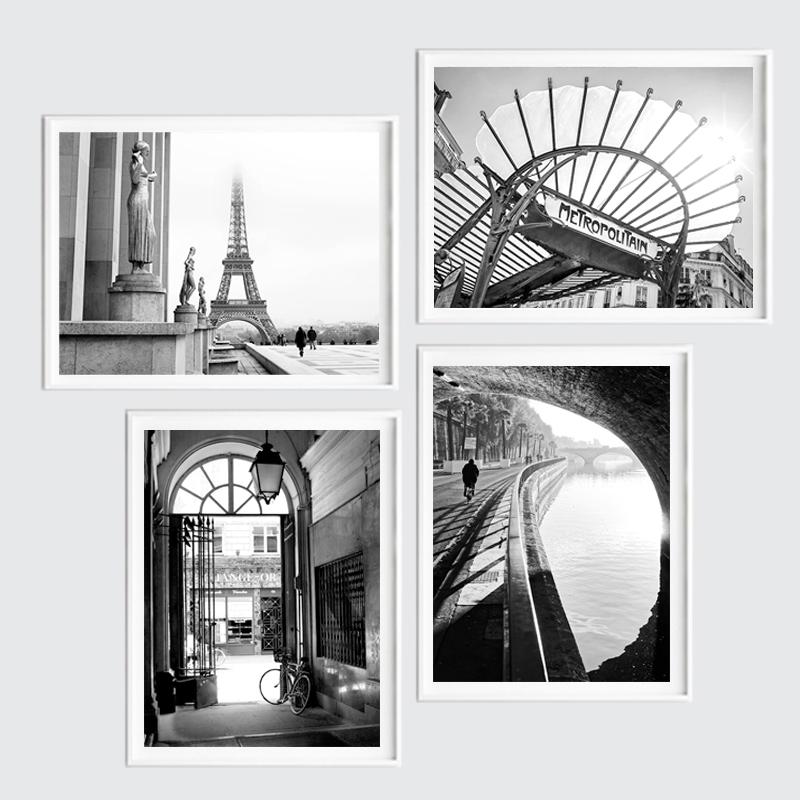 Zestaw Plakatów Paryż W Ramach
