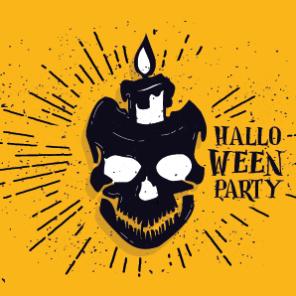 darmowe plakaty na halloween, halloween bal kostiumowy, dekoracje na bal halloween.