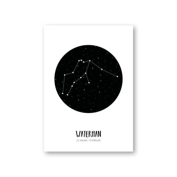 MOODZ design - sterrenbeeldposter