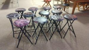 Chairs Stool Metal Painted