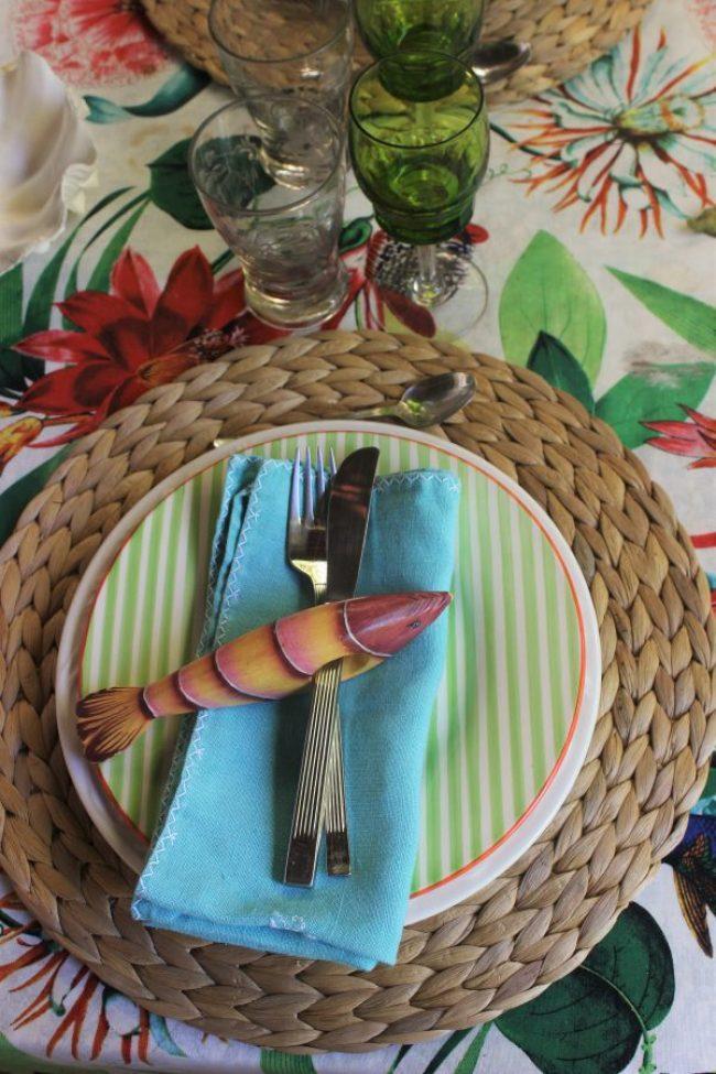 Como decorar una mesa veraniega